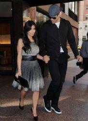 Kim Kardashian & Kris Humphries Out In NY