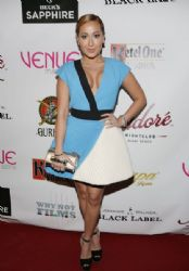 Adrienne Bailon – Venue Magazine Cover Party in Miami