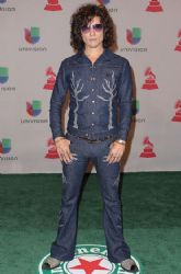 Enrique Bunbury: Green Carpet Arrivals at the Latin Grammy Awards 2014