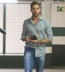 David Bisbal: out and about