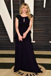Courtney Love : 2015 Vanity Fair Oscar Party