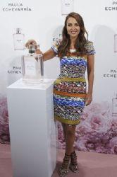 Paula Echevarria Presents Her New Fragrance in Madrid