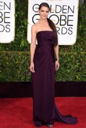 Katie Holmes: 72nd Annual Golden Globe Awards 2015- Arrivals