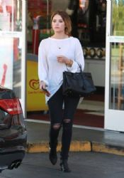 Ashley Benson out running some errands in Los Angeles