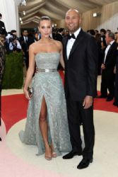 Hannah Davis and Derek Jeter: 'Manus x Machina: Fashion In An Age of Technology' Costume Institute Gala - Arrivals