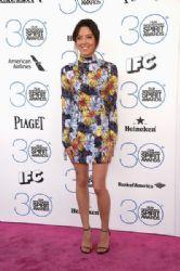 Aubrey Plaza wears Suno - The 2015 Film Independent Spirit Awards