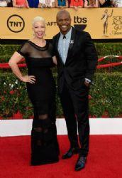 Terry Crews ad Rebecca Crews: 21st Annual Screen Actors Guild Awards - Arrivals