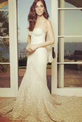 Sandra Echeverría: wedding look