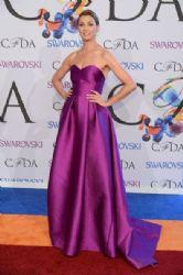 Bridget Moynahan wears Lela Rose - 2014 CFDA fashion awards
