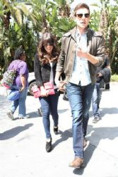 Lea Michele and Cory Monteith: went to the L.A. Kings vs. Vancouver Canucks game