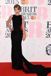 Taylor Swift wears Roberto Cavalli - The 2015 Brits Awards