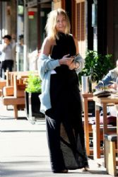 Lara Bingle Lunches In Style