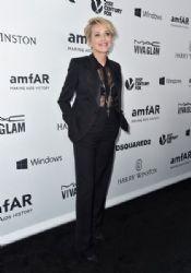 Sharon Stone: amfAR's Inspiration Gala Los Angeles