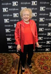 Betty White poses for a photo at the 21st Annual Broadcasting & Cable Hall Of Fame Awards at The Waldorf Astoria on October 26, 2011 in New York City