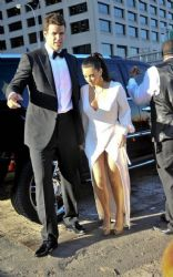 Kim Kardashian With Kris Humphries: In a photoshoot in New York City