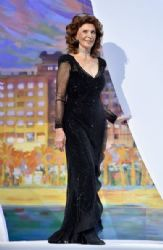 Sophia Loren wears Giorgio Armani - 'A Fistful Of Dollars' Premiere & 2014 Cannes Film Festival Closing Ceremony
