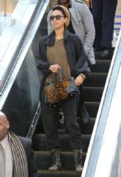 Keri Hilson arriving on a flight at LAX airport in Los Angeles