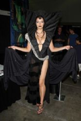 Adrianne Curry: Comikaze Expo, at the LA Convention Center