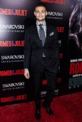 Douglas Booth wears Tom Ford - 'Romeo & Juliet' Hollywood Premiere