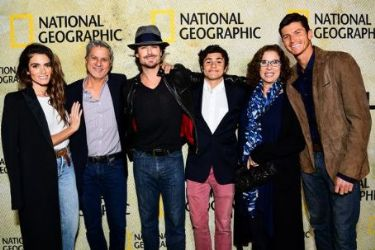 Nikki Reed and Ian Somerhalder: attend the premiere of National Geographic's 'The Long Road Home' at Royce Hall in Los Angeles