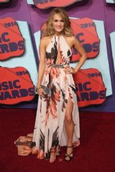 Carrie Underwood wears Roberto Cavalli - 2014 CMT Music Awards