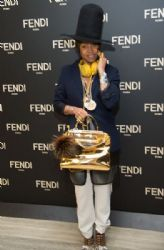 Erykah Badu - Fendi Celebrates The Opening Of New York Flagship Store