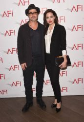 Angelina Jolie & Brad Pitt:  15th Annual AFI Awards