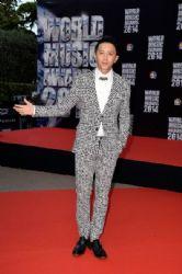 Han Geng: Arrivals at the World Music Awards