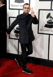 Ringo Starr: 56th GRAMMY Awards - Red Carpet