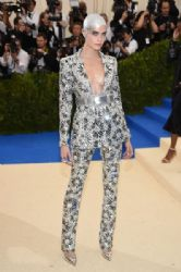 Cara Delevingne in Chanel :  2017 Met Gala