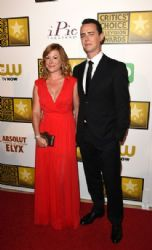 Colin Hanks and Samantha Bryant: Arrivals at the Critics' Choice Television Awards