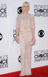 Anna Faris in Naeem Khan Pants & T-shirt:  People's Choice Awards