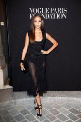 Joan Smalls wears Saint Laurent - Vogue Paris Foundation Gala