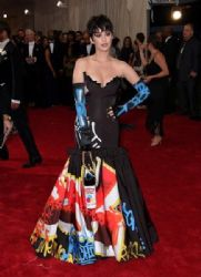 Katy Perry wears Moschino - 2015 Met Gala