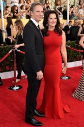 Scott Bakula and Chelsea Field: 20th Annual Screen Actors Guild Awards - Red Carpet