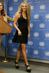 Shakira: United Nations Press Conference