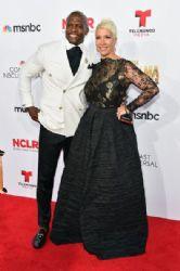Terry Crews and Rebecca King-Crews: 2014 NCLR ALMA Awards - Red Carpet