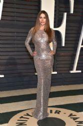 Sofía Vergara wears Michael Kors Dress : Vanity Fair's Oscars Party
