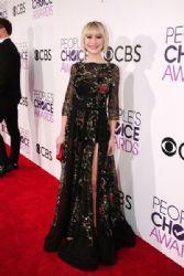 Chelsea Kane in Tony Ward Dress : People's Choice Awards 2017