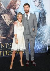 Chris Hemsworth and Elsa Pataky  :