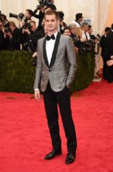 Andrew Garfield: Red Carpet Arrivals at the Met Gala 2014
