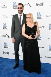 Patricia Arquette and Eric White: 2016 Film Independent Spirit Awards - Arrivals