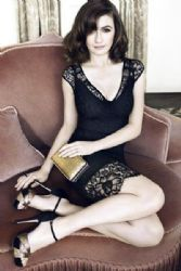 Emily Mortimer: modeling L.K. Bennett's Fall 2012 wares in their new ad campaign