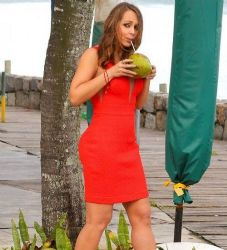 Gabriela Spanic: holiday time