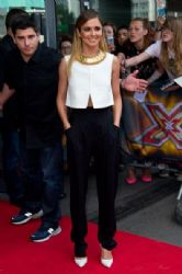 Cheryl Cole wears Jill Sanders & Temperley London - The X Factor London Auditions