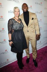Rebecca King-Crews and Terry Crews: Eva Longoria Foundation Dinner