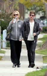 Evan Rachel Wood: went for a leisurely stroll in Los Angeles