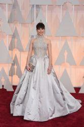 Felicity Jones: 87th Annual Academy Awards 2015