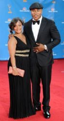 LL Cool J and Simone Johnson