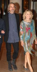 Jeremy Irons and Sinéad Cusack: Athens movie premiere